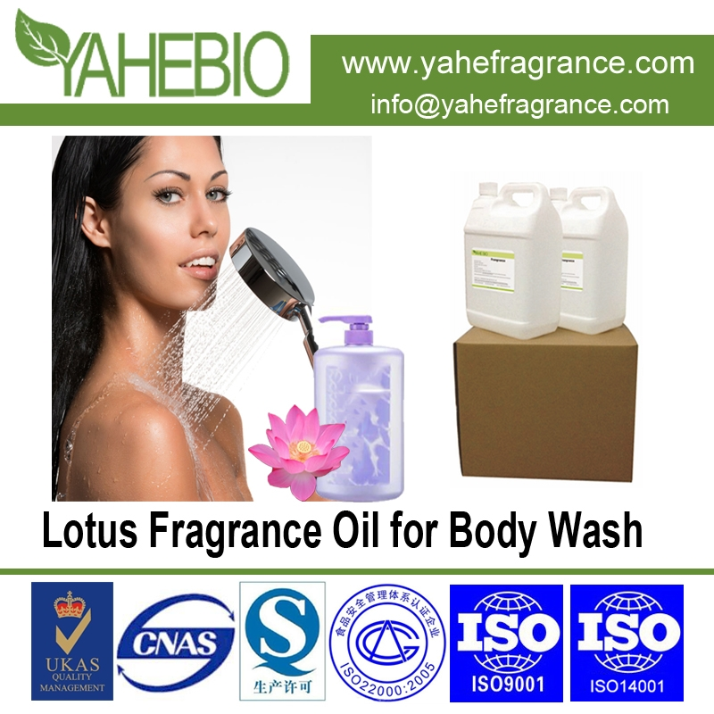 Lotus fragrance oil for body wash