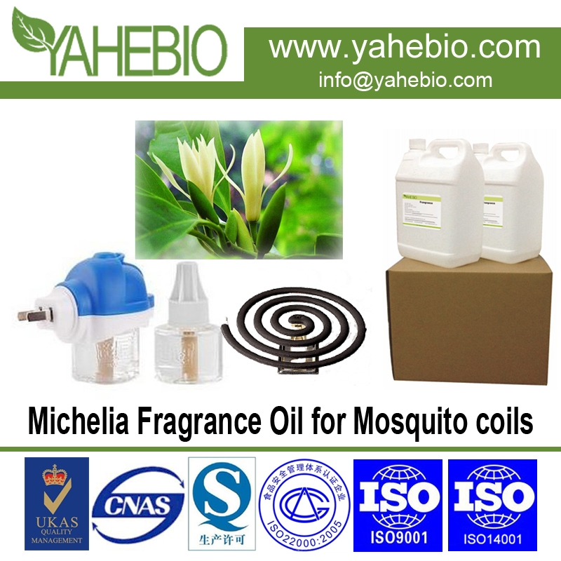 Michelia fragrance for mosquito coils