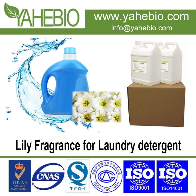 Lily fragrance for laundry detergent