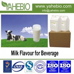 Milk flavour for beverage product