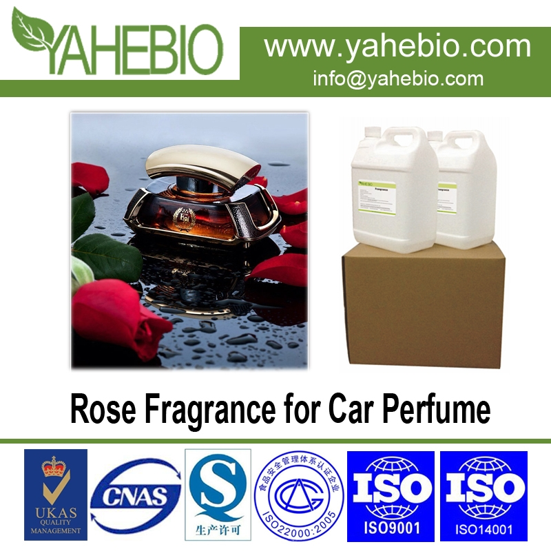 Rose fragrance for auto perfume