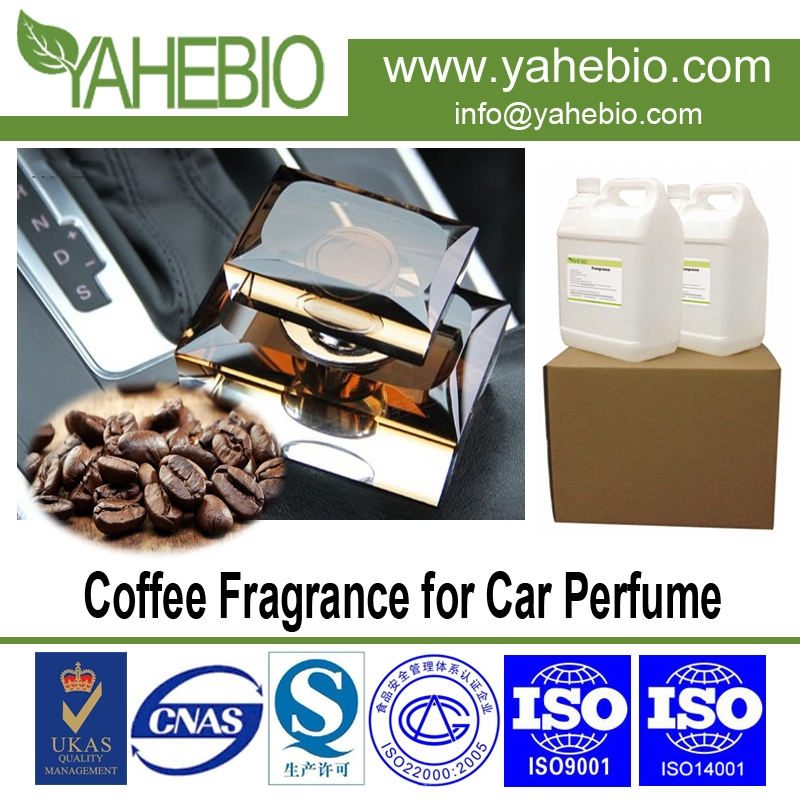 Coffee fragrance for auto perfume