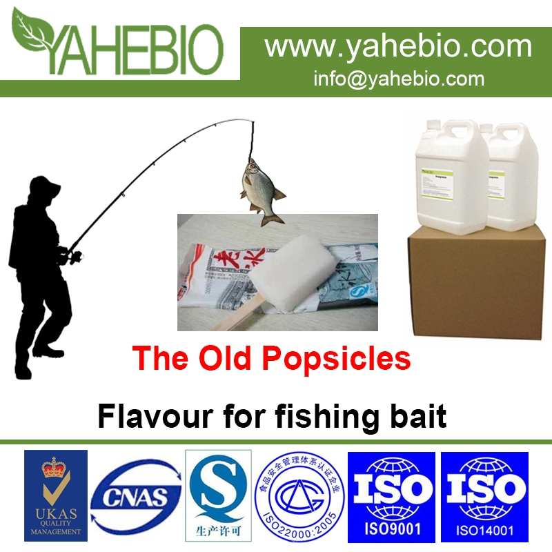 Popsicles flavour for fishing bait