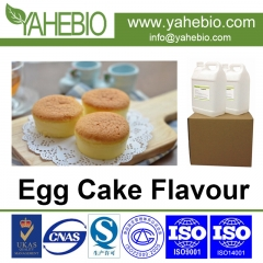 egg cake flavor with strong profile