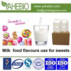 Milk flavour for sweets
