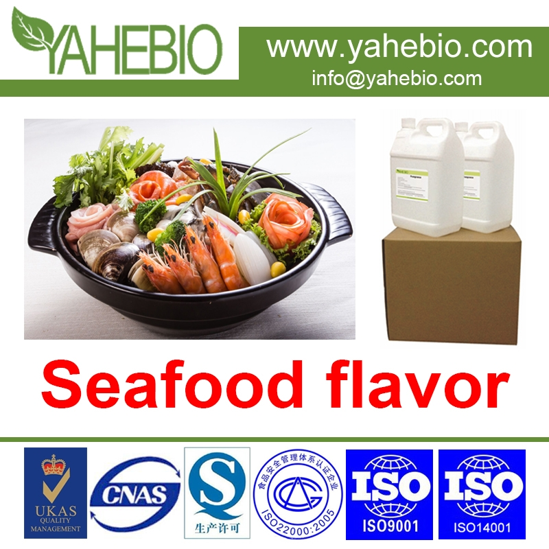 Seafood Flavour for savoury food and bakery and snack food