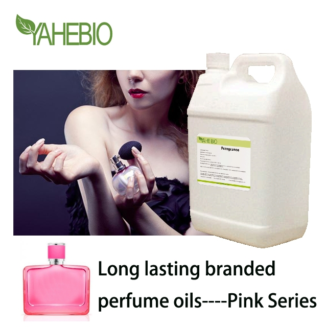 Long lasting high quality factory price branded perfume oil pink series